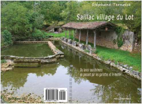 couverture Saillac village du Lot